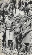 Dans Le Sillage De Bougainville VIII - Iles Salomon, Guerriers - Publicité Laboratoires La Biomarine - Océanie