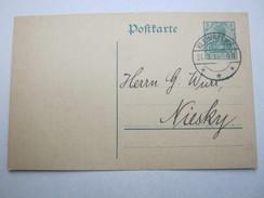 1914 , KLEINWELKA    , Klarer Stempel Auf Karte - Briefe U. Dokumente