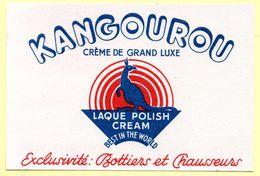 Buvard Kangourou, Crème De Luxe Pour Chaussures. - Produits Ménagers