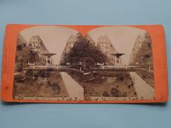 LYON Place Et Rue Impériale ( N° 17 ) Stereo Photo Observatoires GAY ( Voir Photo Pour Detail ) ! - Photos Stéréoscopiques
