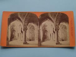 Abbaye De Mont St. MICHEL La Crypte De L'Aquilon () Stereo Photo ( Voir Photo Pour Detail ) ! - Photos Stéréoscopiques
