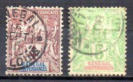 Col 5 / Sénégal  N° 10 & 11 Oblitéré Cote : 4,70 € - Gebruikt