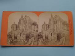 Abbaye De Mont St. MICHEL Vue Prise De La Tour Du Nord () Stereo Photo ( Voir Photo Pour Detail ) ! - Photos Stéréoscopiques