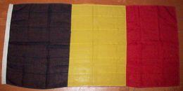 Antique Flag 85x180sm - Belgium - Dated 1945 (1943?) - Drapeaux