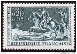 "FR YT 1406 "" Journée Du Timbre "" 1964 Neuf ** - Unused Stamps"