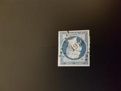N° 14, 20 Cts Bleu, PC 1940, Mayenne, Mayenne. - Marcophily (detached Stamps)