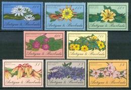 1986 Antigua & Barbuda Fiori Flores Fleurs Set MNH** Fio174 - Antigua E Barbuda (1981-...)