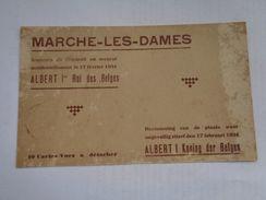 Réf:                     MARCHE-LES-DAMES                18  Cartes Postales - Namur
