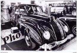 Auto Voiture Automobile Car - Photo De Presse Originale - Salon RETROMOBILE PARIS 1989 - AUTO UNION HORCH 1938 - Coches