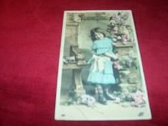 THEME FANTAISIE ° PORTRAITS D'ENFANTS  BONNE FETE   1907 - Children And Family Groups