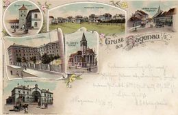 CPA - HAGUENAU (67) - Carte Lithographique De 1897 - Haguenau