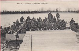 Hemixem Hemiksem Genie St Bernard Pontage Pontonniers Belgian Army Armee Belge Military Ponton Schelde - Hemiksem