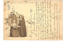 Brugge - Kantwerksters / Lace Woman / Dentellière - 1899 - Uitgave: 'Eigendom L De Haene' - Enkele Rug - Brugge