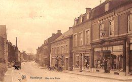 Havelange - Rue De La Poste (tabacs Dunlop Pompe à Essence Motos) - Havelange