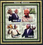 MOZAMBIK 2002 M0023 NELSON MANDELA. MINERALS - Mozambique