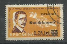 """Rumänien 2175 """" Briefmarke Zum 50, Todestag Von Aurel Vlaicu"""" Gestempelt Mi. 2,00 - 1948-.... Républiques"""