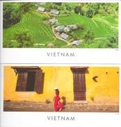 Lot De 2 CPM Panoramiques Du Viet-Nam: Hoï An Et Sapa - Editeur Asia (Voyages En Asie) - Viêt-Nam