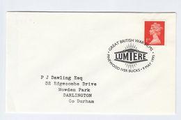 1995 PINEWOOD BRITISH WAR FILMS EVENT COVER Movie Cinema Film Stamps Gb - Cinema
