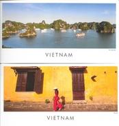Lot De 2 CPM Panoramiques Du Viet-Nam: Hoï An Et Ha Long Bay - Editeur Asia (Voyages En Asie) - Viêt-Nam