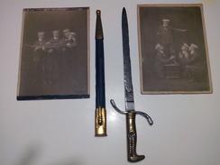 SPADINO DA CADETTO KRIEGSMARINE. GERMANIA + 2 FOTO - Knives/Swords