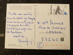 LETTRE TCHEQUIE CESKA REPUBLIKA REPUBLIQUE TCHEQUE AVEC YT 152 SVEJK FUMANT LA PIPE A BUDEJOVICE - PRAGUE PRAHA - Tchéquie
