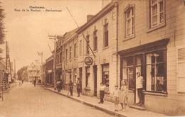 CPA -  BELGIQUE,  OOSTCAMP, Rue De La Station - Statiestraat - Oostkamp