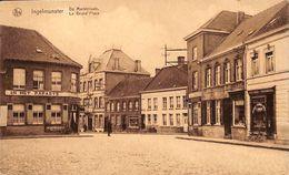 Ingelmunster - De Marktplaats - La Grand'Place (In Het Paradys, Au Lion D'Or, Apotheek) - Ingelmunster