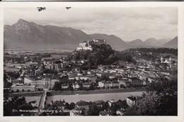 AK Salzburg G. D. Untersberg - Stempel Festung Hohensalzburg (30896) - Salzburg Stadt
