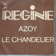 """45 Tours SP - REGINE  - PATHE 11832   """" AZOY """" + 1  ( 2ème Pochette ) - Vinyles"""