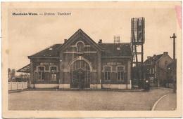 Moerbeke-Waas NA4: Station. Voorkant - Moerbeke-Waas
