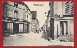 37 - BEAULIEU-LÈS-LOCHES -  RUE BOURGEOISE - COMMERCES - DOCKS - Andere Gemeenten