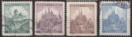 28 Boemia E Moravia 1939 Castelli Cattedrali Città Used - Boemia E Moravia