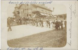 -2-  Verviers - Chalet Du Vélodrome à Ensival - Course Des 50 Milles Anglais - 1er Cardol....rare  2 Scans - Verviers