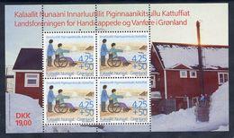GREENLAND 1996 Disabled Charity Block MNH / **.  Michel Block 11 - Blocks & Sheetlets