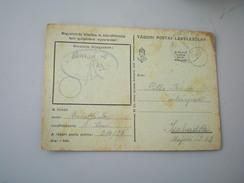 Tabori Posta WW2 1943 Szabadka Subotica - Militaria