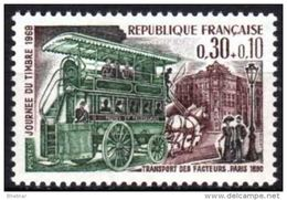 "FR YT 1589 "" Journée Du Timbre ""1969 Neuf** - Unused Stamps"