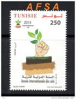 TUNISIA 2015 International Year Of Soil // 2015 Année Internationale Des Sols - Agriculture