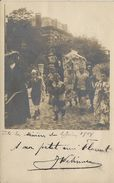 -3-  Verviers - Fête Des Minières Le 2 Juin 1904 - Carte Peu Courante - 2 Scans - Verviers