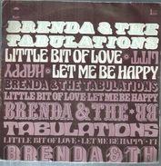 """45 Tours SP - BRENDA & THE TABULATIONS  - EPIC 8320  """" LITTLE BIT OF LOVE """" + 1 - Discos De Vinilo"""