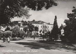 13335) CONEGLIANO MONUMENTO AI CADUTI VIAGGIATA 1953 - Treviso
