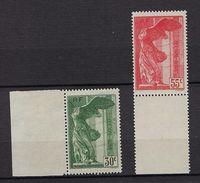 "FR YT 354 & 355 "" Victoire De Samothrace ""1937 Neuf** BDF - Non Classés"