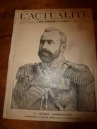 1904 L'ACTUALITE:La Dernière Bouteille De VOLNAY;Danse CAKE-WALKE-antiquité;Hindous à Pondichéry;Zion-City;Expo St-Louis - Livres, BD, Revues