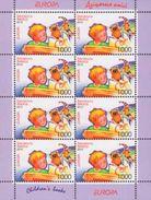 BELARUS - BIÉLORUSSIE -WEISSRUSSLAND  2010  EUROPA CEPT   2sheets  (Klb )   MNH **  (2 Scans) - 2010