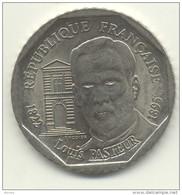 2 FRS PASTEUR 1995  TB/TTB - I. 2 Francs