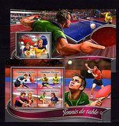 Togo 2016 Table Tennis Sport MNH - Olympische Spelen