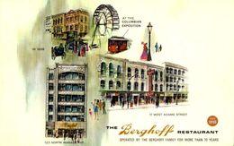 CHICAGO / RESTAURANT BERGHOFF / A 54 - Chicago