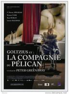 CP Publicitaire Neuve - Affiche De Film - Goltzius Et La Compagnie Du Pélican - Nu Nue Nude Naked - Affiches Sur Carte