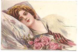 FEMME - Illustrateur CORBELLA - 250-4 - Mauzan, L.A.