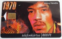 Télécarte Jimmy Hendrix - Hongrie