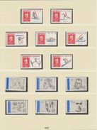 FRANCE LINDNER ANNEE 1991 Sans/ohne/without Timbres 9 Feuilles TTB - Vordruckblätter
